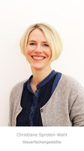 Christiane Sproten-Wahl | Steuerfachangestellte
