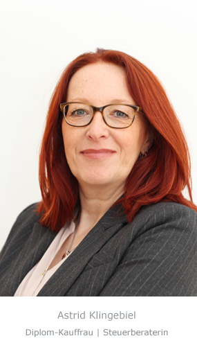 Astrid Klingebiel | Diplom-Kauffrau Steuerberaterin